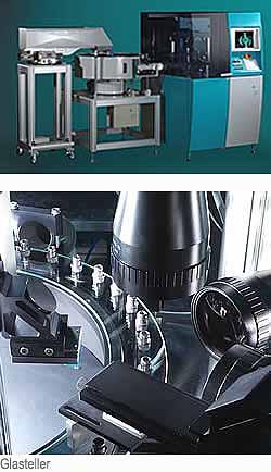 Sortierautomaten, Sortiermaschinen für als Schüttgut vorliegende Kleinteile
