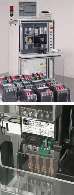 Prüfstände für Schaltgeräte, Schalter Prüfstände