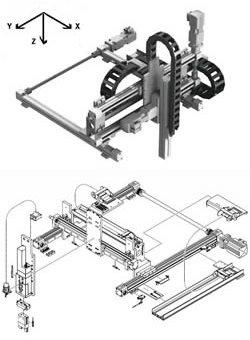 Modulare Portalroboter, Linearroboter