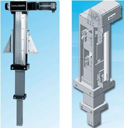Vertikalachsen für Portalsysteme