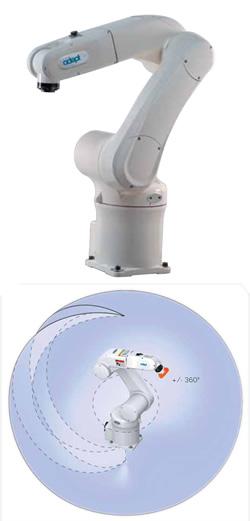 Vertikal-Knickarmroboter, Vertikal-Gelenkarmroboter