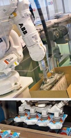 Verpacken mit Roboter, Verpackungs-Roboter