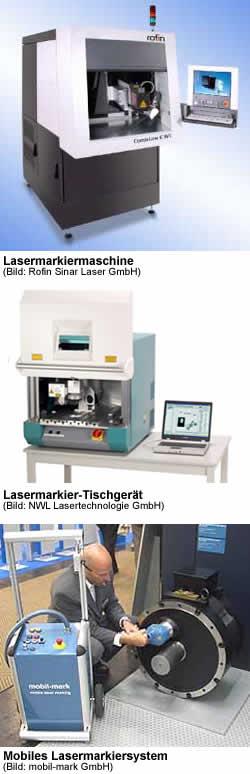Laserbeschriftungsanlagen, Laserbeschriftungsmaschinen