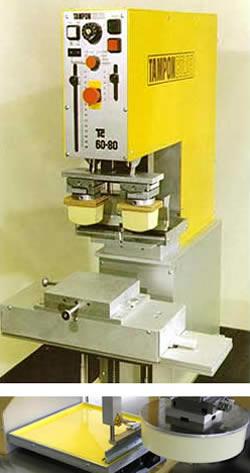 Tampondruck, Tampondruckmaschinen, Tampondrucksysteme