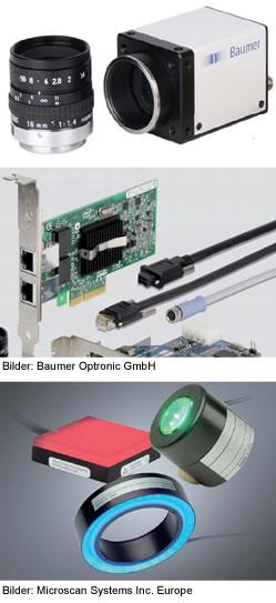 Bildverarbeitungs-Komponenten, Komponenten der Bildverarbeitung