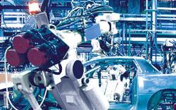 Teilerückverfolgung in der Motorenmontage