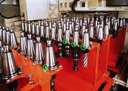 Werkzeugidentifikation in der Motorenfertigung