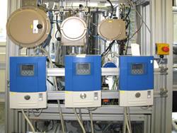 Prüfanlagen zur Funktionsprüfung von elektronischen Wärmezählern und Wasserzählern