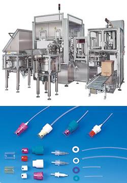 Hochleistungs-Ringtakt-Montageanlage für Medizinprodukte