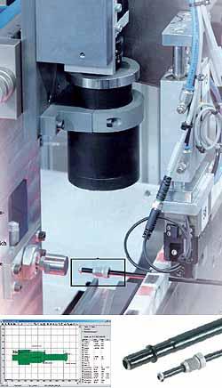 Qualitätsprüfung von Brems- und Kraftstoffleitungen mit dem intelligenten Kompaktkamerasystem SBOC-Q