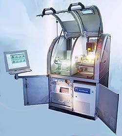 Vermessung und Bauteiltyperkennung in Deflashermaschine