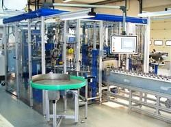 Montagemaschinen für Fahrwerkskomponenten mit Kugelgelenken