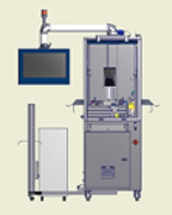 Laser-Beschriftungszelle für Stanzprodukte LASERmark KLM 621
