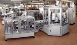Hochleistungs-Ringtakt-Montageanlagen ROTARY MED
