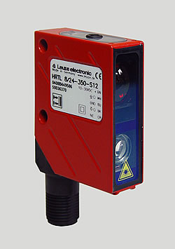 Laser-Reflexlichttaster mit Hintergrundausblendung Baureihe 8