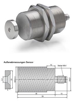 Magneto-induktive Abstandssensoren mainSENSOR MDS-45-M30-SA
