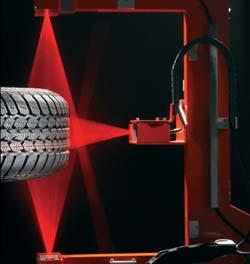 System zur Reifen-Oberflächenprüfung