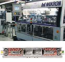 Montage von Gasgeneratoren für Airbags
