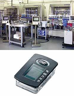 Vollautomatische Montage von LCD-Zählern