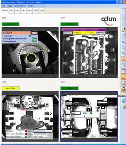 Optische Montagekontrolle und Vollständigkeitskontrolle mit Bildverarbeitung