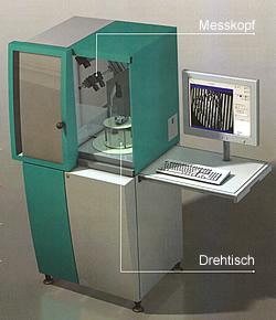 Messgerät zur berührungslosen 3D-Vermessung FLEX-3A Messzelle