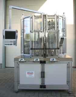 Helium-Dichtheitsprüfung von Einspritzventilen