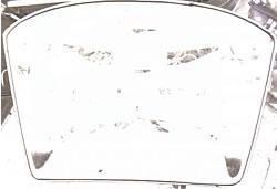 Kleberauftragsprüfung an Frontscheiben