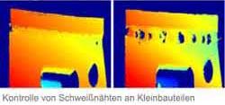 3D-Messsystem zur Geometrie-Prüfung VMT GEO