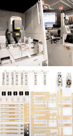 Prozesskontrolle und Kennzeichnung bei der Produktion von Stanzteilen