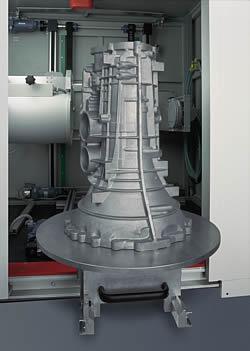Materialprüfung von Getriebegehäusen