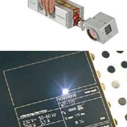Laser-Etikettendruckspender